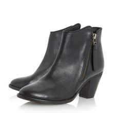 Dune Penny western style ankle boots