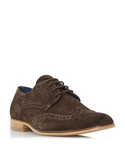 Rio high shine leather lace up brogues