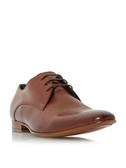 Rammos almond toe leather derby shoes
