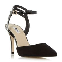 Dune Chelsee pointed toe two part court shoes