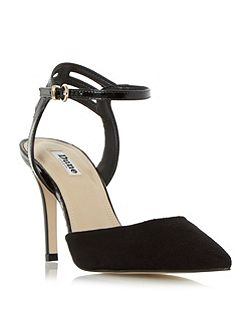 Chelsee pointed toe two part court shoes