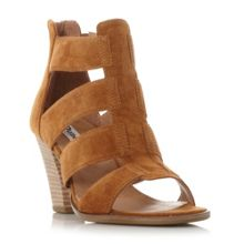 Dune Jinnie multi strap mid heel sandals
