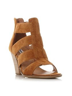 Jinnie multi strap mid heel sandals