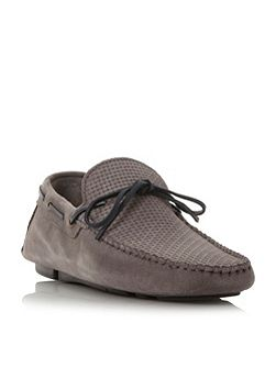 Benzel woven embossed shoes