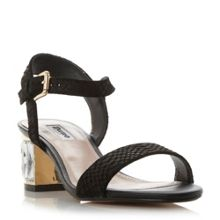 Dune Marcia jewelled heel sandals