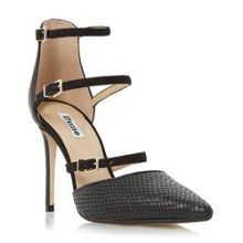 Dune Catarina triple straps open court shoes