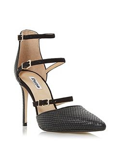 Catarina triple straps open court shoes