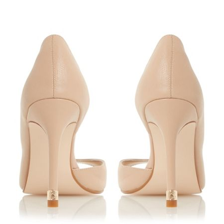 Biba Delfina toe plate d`orsay court shoes