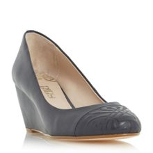 Biba Amarelle pointed embossed courts