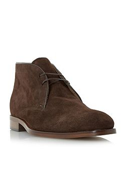 Carrick suede lace up chukka boot