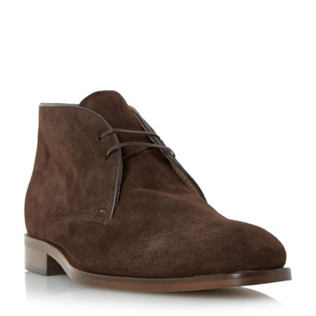 Roland Cartier Carrick suede lace up chukka boot