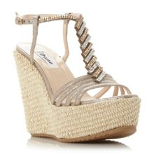 Manifique platform wedge sandals