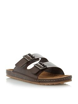 Frodo double buckle sandals