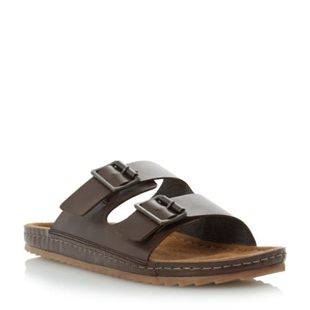 Bertie Frodo double buckle sandals