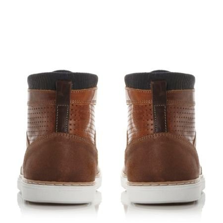Dune Spencer high top trainers