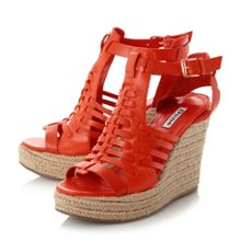 Dune Karnival huarache wedge sandals