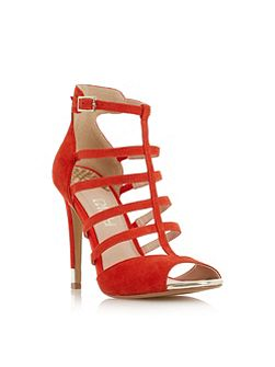 Maren caged heeled sandals