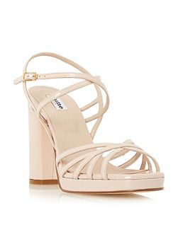 Magdalane block heel strappy sandals
