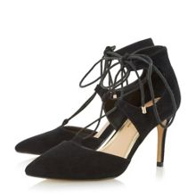 Head Over Heels Calista ghillie laced court shoes