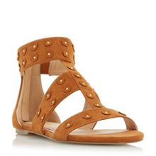 Head Over Heels Libbey studded flat sandals