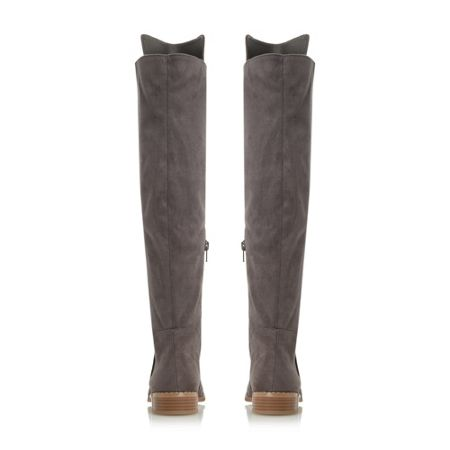 Head Over Heels Toulus over the knee flat boots