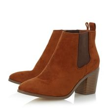 Head Over Heels Paseve block heel chelsea boots