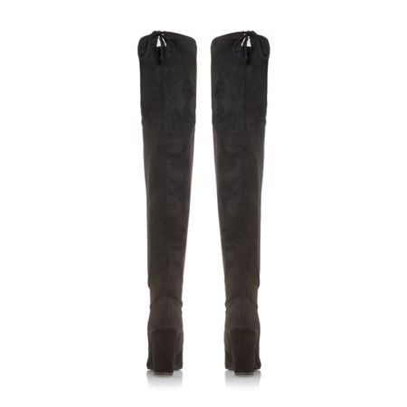 Dune Sibyl over the knee stretch boots