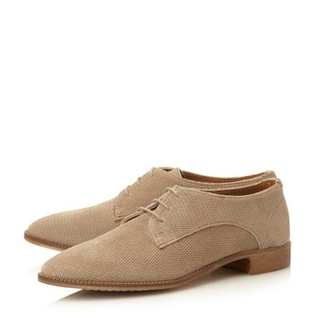 Dune Faris suede lace up shoes