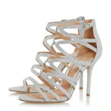 Silver Sandals Womens Shoes | Buy Shoes for Women Online - House ...