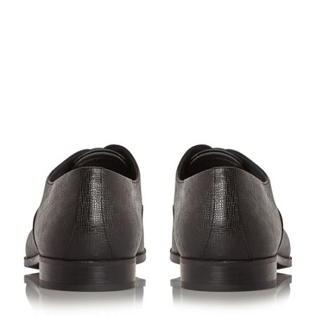 Hugo Boss Uniol embossed leather oxford shoes