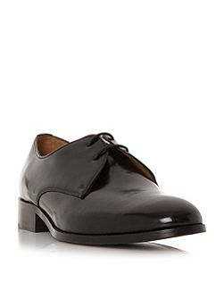 Ritzo plain derby lace gibson shoes