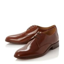 Bertie Ritzo plain derby lace gibson shoes
