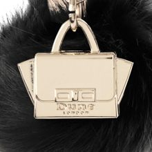 Dune Jess cube pom pom and mini bag keyring