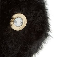 Dune Jenson crystal eye pom pom bag charm