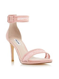 Maisi lace two part high heel sandals