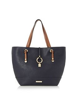 Dollies colour block shopper bag