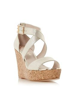 Kanya strap wedge sandals