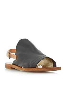 Lilymay high vamp flat sandals