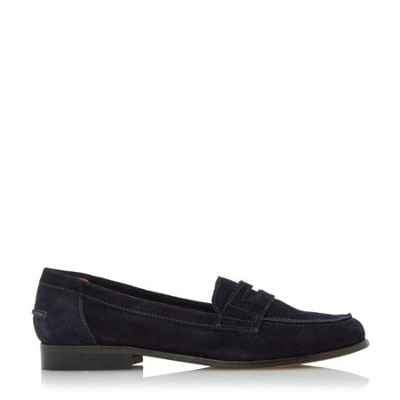 Dune Black Gaby classic style penny loafers