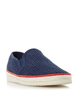 Fresh mesh detail espadrille shoes
