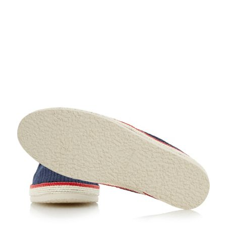 Bertie Fresh mesh detail espadrille shoes