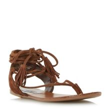 Steve Madden Whatchit ghillie lace up sandals