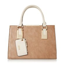 Dune Deedee gusset detail tote bag