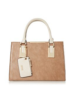 Deedee gusset detail tote bag