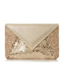 Dune Elliott envelope clutch bag