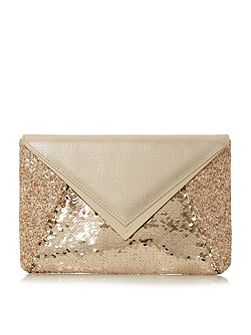 Elliott envelope clutch bag