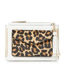 Dune Edalma front pocket cross body bag