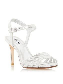 Maci strappy two part mid heel sandals