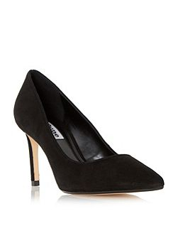 Abbigal pointed toe mid heel court shoes