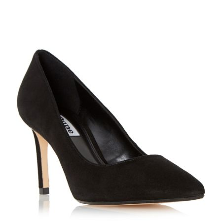 Dune Abbigal pointed toe court shoes